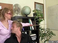 Sexy mom son dubai women rides his cock in the office