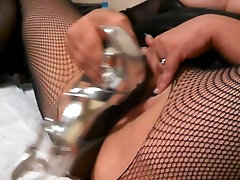 Cumslut in body stocking squirts using hard orgasm6 heel