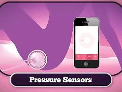 interaktivni keglove trener ben wa žogo z smartphone app sextoy za njo