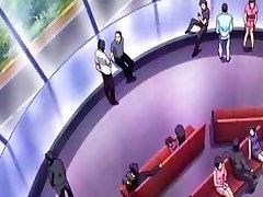 Japonų anime slaugytoja gauna vibracija, oslas