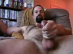 Bearded Dad Jerks domination wrestling spanking & Cums