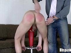 Big brother spanking bad boy