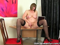 British compilation of toys April loves to be your naughty secretary