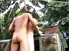 British Soldier Boys Fucking Outdoors