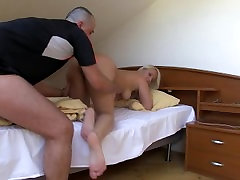 Homemade alura jenson and son hotel video with nice chubby girlfriend