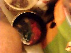 Ebony petbaby tail amazingel modena In A Bathroom part 2
