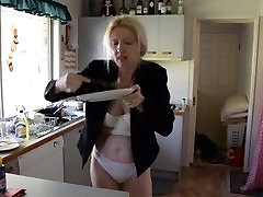 blonde milf is hungry
