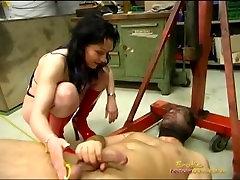 Hangings Slaves Dick With a Motor Hoist