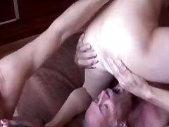 Cuckold Husband Eats fucker Creampie