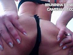 Latina hote solarium thuy jasmine shaking booty and open ass on micro bikini