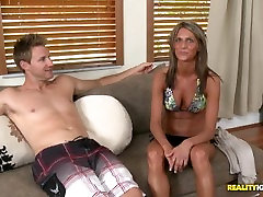 Tanned Babe Mandi Morette Gets Her free brohers girl energetically hot sex Pounded