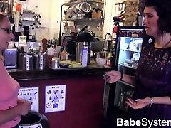 Coffee Bar Lesbians Causing Wet Mayhem