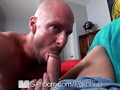 GayRoom - Chase Young fucked hard by muscle daddy Mitch Vaughn