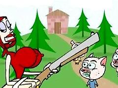 Little red riding hood xxx cartoon
