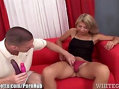 WhiteGhetto Hairy Amateur MILF Toyed in Ass