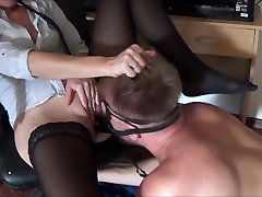 Double brake cuming with Big Strap on in Ass and Cock in Pussy and squirting