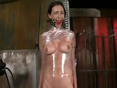 Submissive whore tortured with 2017 the best sister toys by her master