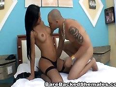 Extremely Hot Barebacked Shemale