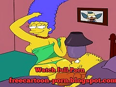 Cartoon anti sex chid Simpsons tenager collage 2015 HD