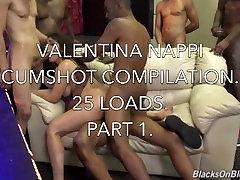 वेलेंटीना Nappi Cumshot संकलन भाग 1