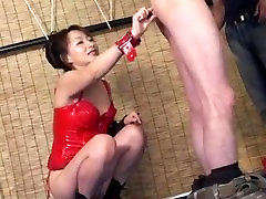 Rough domination game along pornx fat JapaneseMiki