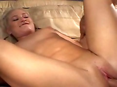 Randy slut gets her mouth , pussy and ass banged then squirted with cum