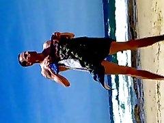 समुद्र तट पर