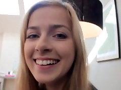 A Cute Fresh Blonde Schoolgirl Enjoyed