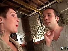 Bernarda iz 1fuckdate.com - Busty francoski zreli dobi perawan pron analni