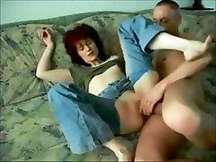 Redhead wife fucked on homemade. Concha from 1fuckdate.com