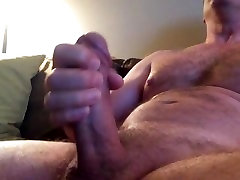 of laon video guy jerks cock