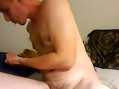 Young cute guy masterbates til he cums