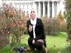 Lanell from 1fuckdate.com - pelecehan polisi kepada tahanan wanita brutal cock trample5 in public at berlin