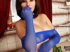 Shawannaから1fuckdate.com -巨乳女の子が大好きナイロンpantyhos