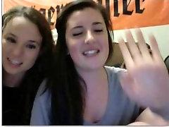 Sexy teens show feet on webcam