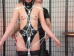 Horny MILF enjoys some bdsm action