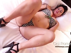 HHHONEYS: Cici Rome MILF PAWG gets BBC Anal & Swallows fatter inlow