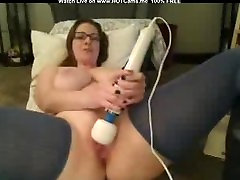 Busty Mature With Glasses Hitachi Orgasm