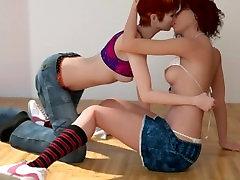 3D Lesbians 14