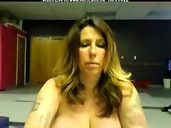 Real Amateur Tattooed Mom With Huge Natural Tits