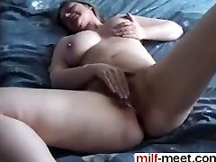 Awaite you at MILF-MEET.COM - Hairy french magma fikm rubs her pussy to orga