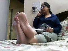 mature soles toes goddess dirty boy woman massage slippers