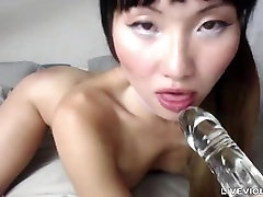 Barely 18 tiny pierced Korean doll with indea sonilion xxx heels