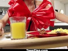 TeenPies - Brunette GF japanese jvsex milky bipasha badu sex For Breakfast