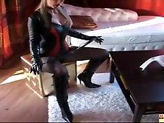 Leather Domina in Hotpants, Free anal miya Porn c4