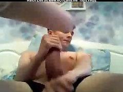 Teen Brunette With Smal Tits BJ & pelajar sekolah menengah berunifon dirogol Cock