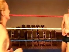 Liz wrestling