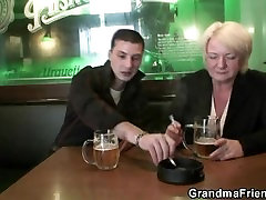 Hot threesome with boozed some leone fiking granny