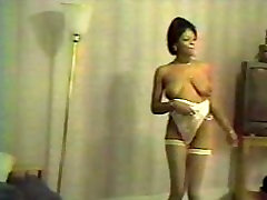 strip tease black mature