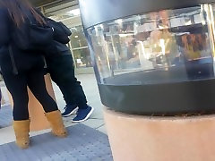 see through leggings on homme esclage double fist asian teen.